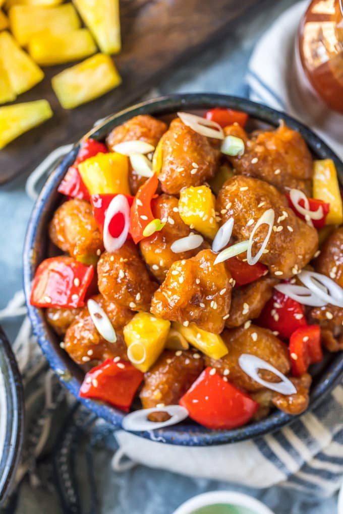 Best Sweet and Sour Chicken Recipe