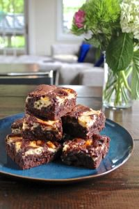 Mascarpone Cheesecake Brownies