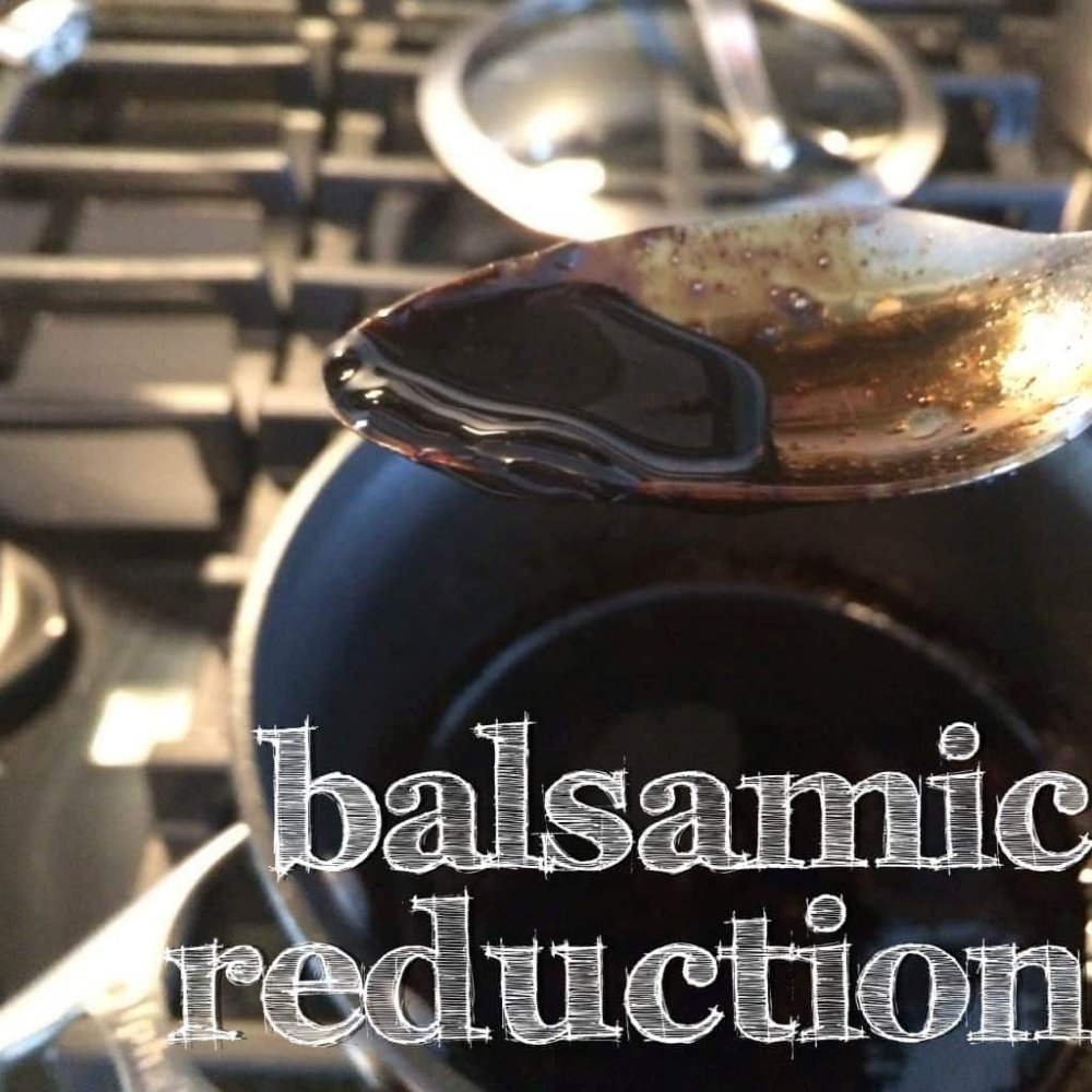 simple balsamic reduction