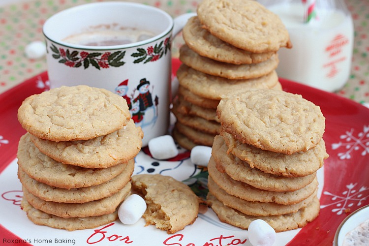 Chewy coconut peanut butter cookies recipe