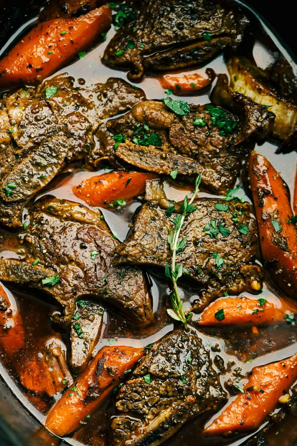 Fall off the Bone Slow Cooker Short Ribs